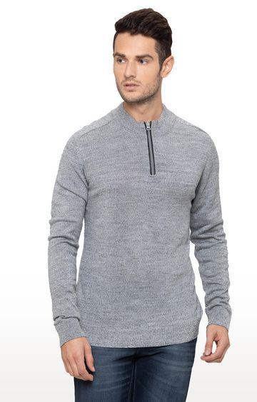 globus | Grey Melange Sweater