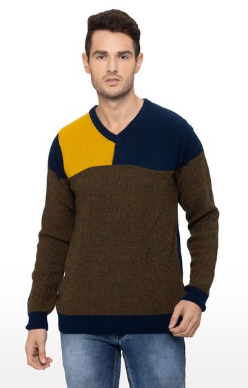globus | Multicoloured Colourblock Sweater