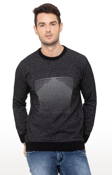 globus | Black Printed Sweater