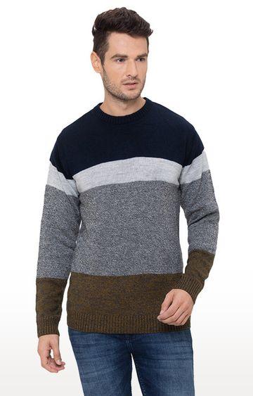 globus | Multicoloured Striped Sweater