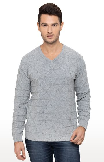 globus   Blue Checked Sweater