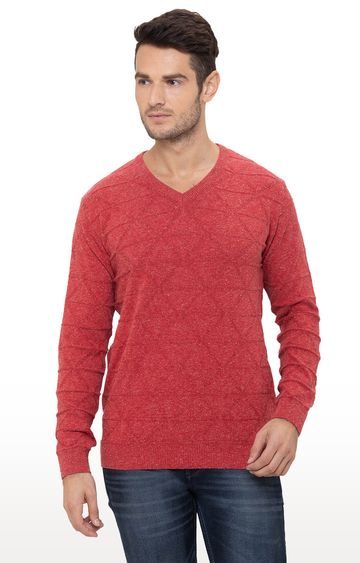 globus | Red Checked Sweater