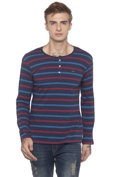 globus | Blue Striped T-Shirt