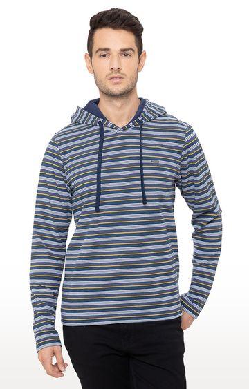 globus   Blue Striped T-Shirt