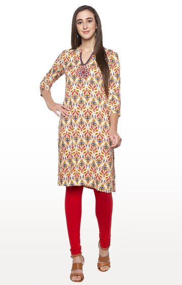 globus | Multicoloured Printed Regular Kurti