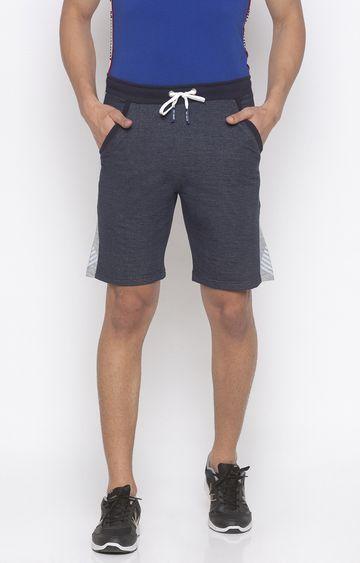 globus | Blue Melange Shorts