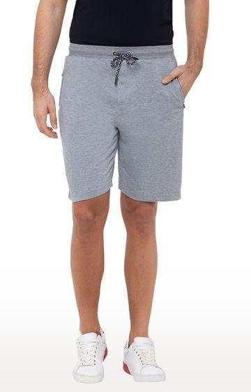 globus | Grey Melange Shorts