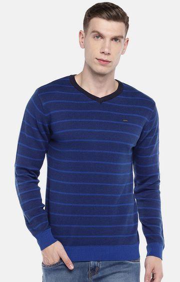 globus | Blue Striped Sweatshirt