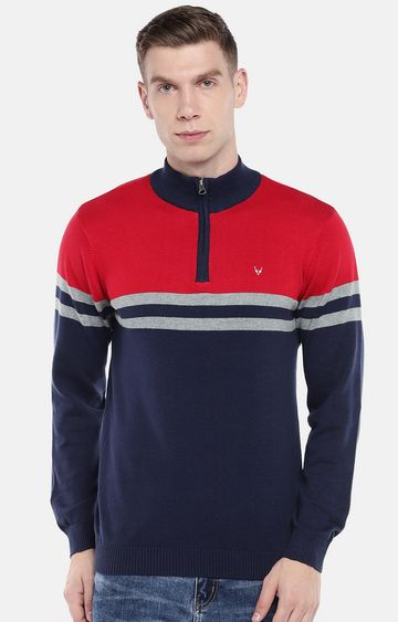 globus | Red Striped Sweatshirt
