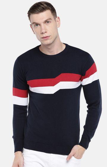 globus | Blue Solid Sweatshirt