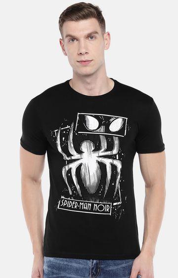 globus | Black Printed T-Shirt