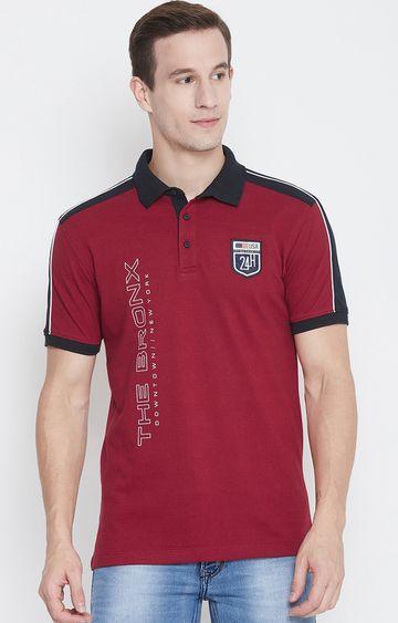 OCTAVE   Salsa Printed Polo T-Shirt