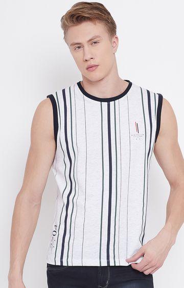 OCTAVE   White Striped Sandos