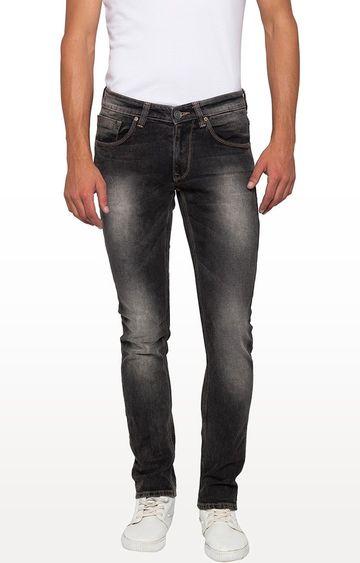 spykar | Spykar Carbon Black Tapered Jeans