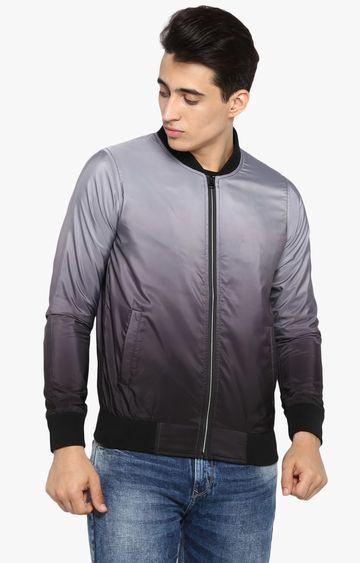 spykar   spykar Grey Polyester Front Open Jackets