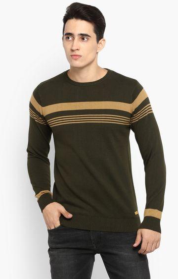 Spykar | spykar Green Cotton T-Shirt