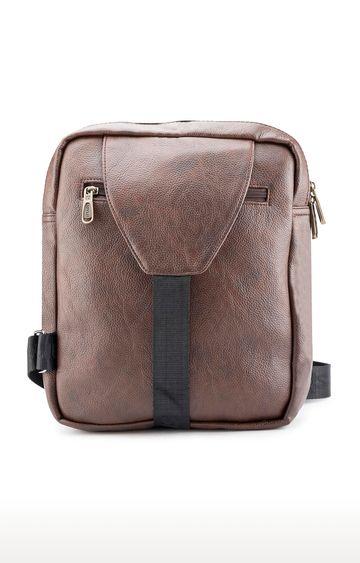 spykar | Spykar Brown Messenger Bag
