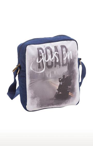 spykar | Spykar Blue Messenger Bag