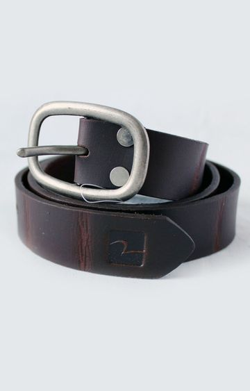spykar | Spykar Brown Leather Belt