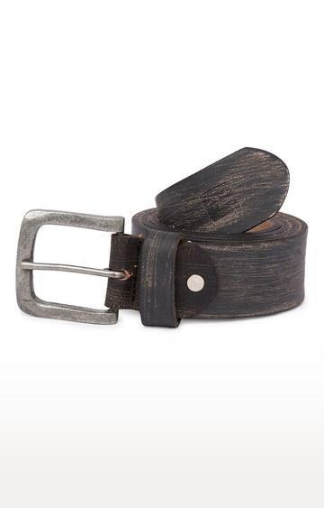 spykar | Spykar Charcoal Belt