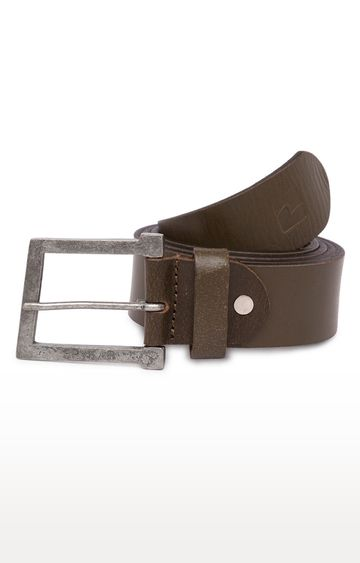 spykar | Spykar Olive Belt