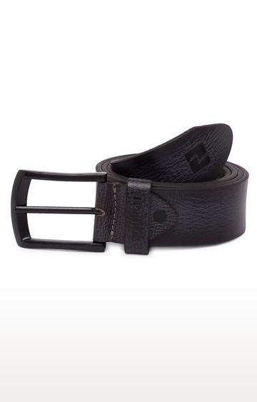 spykar | Spykar Black Leather Belts
