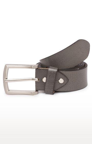 Spykar   Spykar Grey Leather Belts