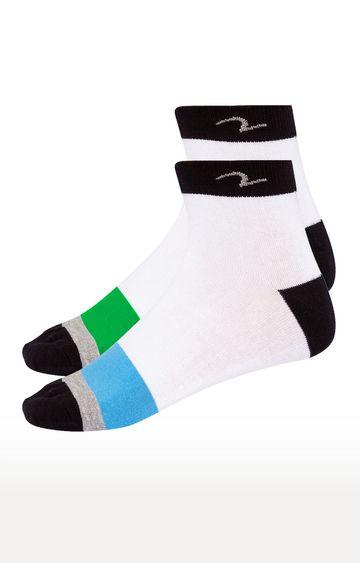 spykar | Spykar Blue and Green Socks - Pack of 2
