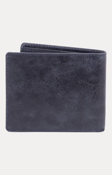 Spykar   Spykar Navy Leather Wallets
