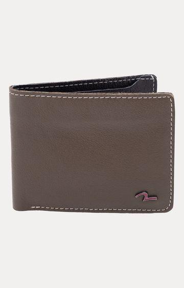 spykar | Spykar Olive Leather Wallets