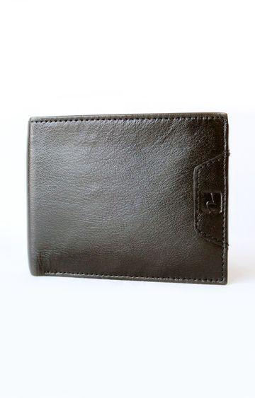spykar | Spykar Brown Leather Wallet