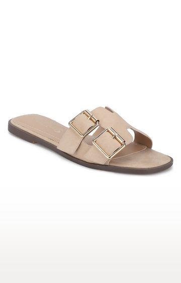 Truffle Collection | Beige Sandals