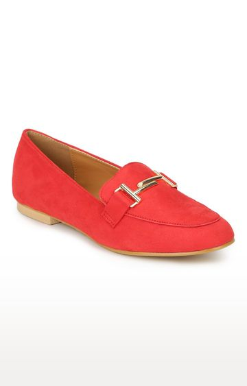 Truffle Collection | Red Loafers
