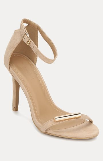 Truffle Collection | Beige Stilettos