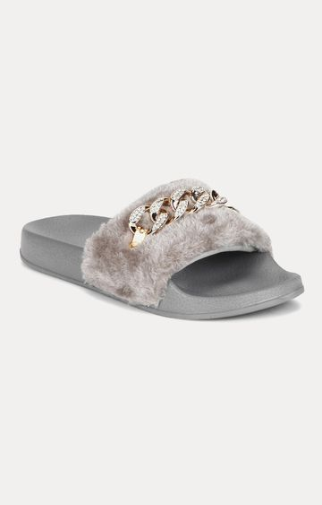 Truffle Collection | Grey Slip-ons