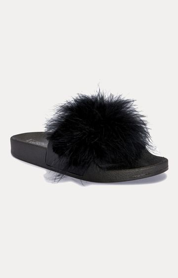 Truffle Collection | Black Slip-ons