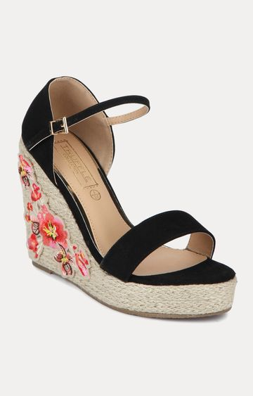 Truffle Collection | Black Wedges