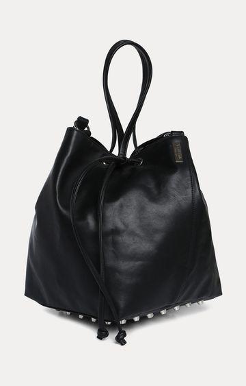 Truffle Collection   Black Handbag