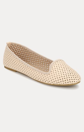 Truffle Collection | Beige Loafers