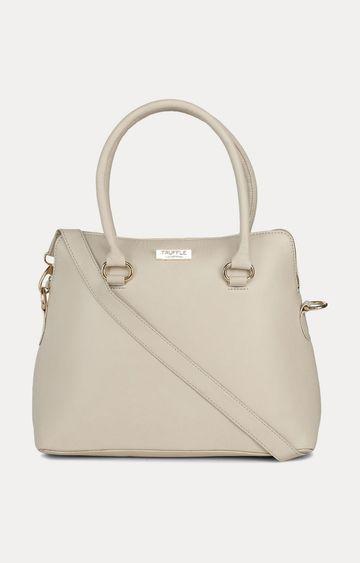 Truffle Collection   Beige Handbag