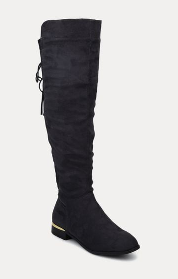 Truffle Collection   Charcoal Boots