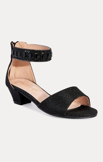 Truffle Collection | Black Heels