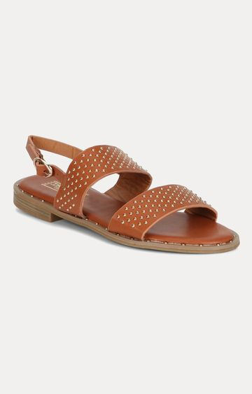 Truffle Collection   Tan Sandals