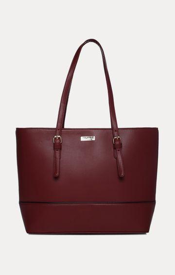 Truffle Collection | Burgundy Handbag