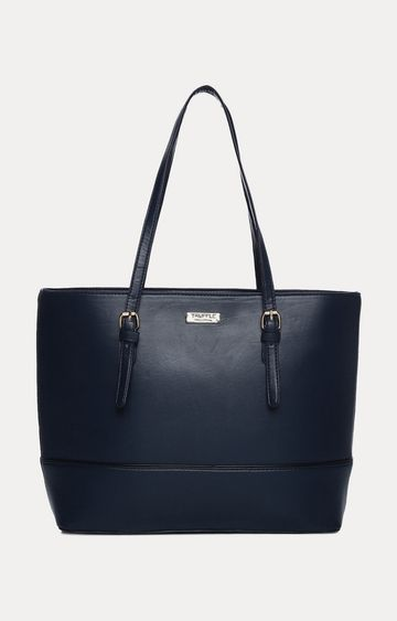 Truffle Collection   Navy Handbag