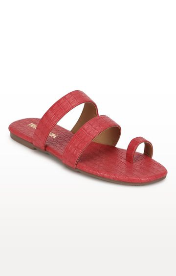 Truffle Collection | Red Sandals