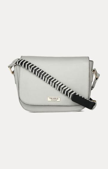 Truffle Collection   Grey Sling Bag
