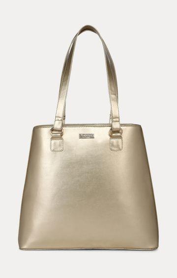 Truffle Collection | Light Gold Handbag