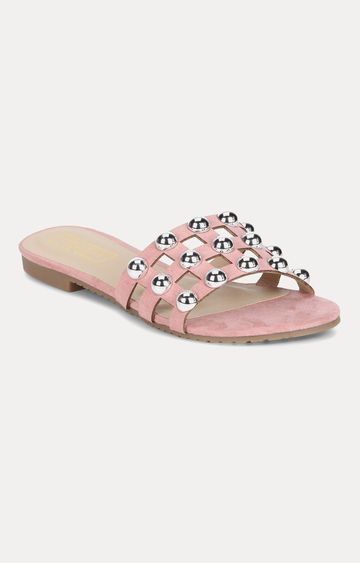 Truffle Collection | Pink Slip-ons