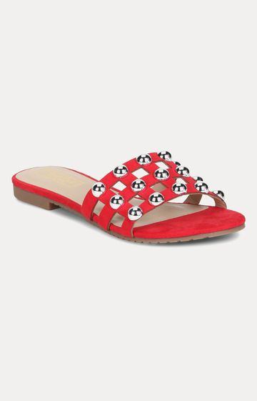 Truffle Collection | Red Slip-ons